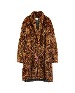 Aries LEOPARD FAUX FUR COAT / LEOPARD