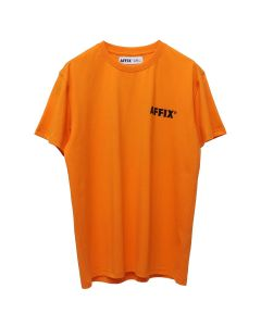 AFFIX EBS PURGE S/S T-SHIRT / SAFETY ORANGE-BLACK