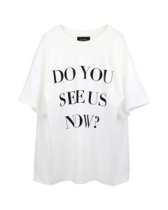 BOTTER BOTTER T DO YOU SEE US NOW / WHITE