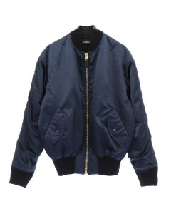 BALENCIAGA BOMBER/TUE14 / NAVY-DIRTY