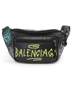 BALENCIAGA EXPLORER BELT PACK/OFE25 / NOIR-MULTI