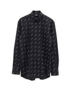 BALENCIAGA SHIRT/TBL96 / BLACK-WHITE