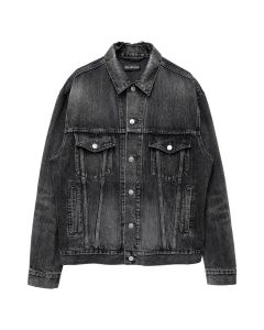 BALENCIAGA DENIM JACKET/TXE03 / 1450 : DIRTY GRAY