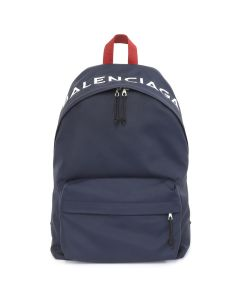 BALENCIAGA BACKPACK/9F91X / BLUE NAVY