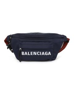 BALENCIAGA HPG1X/BAG / 4370 : NAVY BLUE