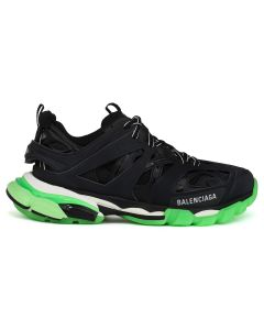 BALENCIAGA W1GB1/FABRIC SNEAKER RUBBER / 1003 : BLACK-GLOW