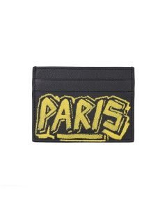 [お問い合わせ商品] BALENCIAGA 0OTO3/CREDIT CARD HOLDER / 1070 : BLACK-YELLOW