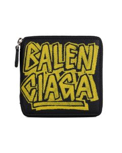 [お問い合わせ商品] BALENCIAGA 0OTO3/WALLET / 1070 : BLACK-YELLOW