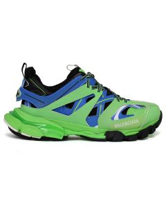 BALENCIAGA W1GB8/FABRIC SNEAKER RUBBER / 4078 : BLUE-GREEN