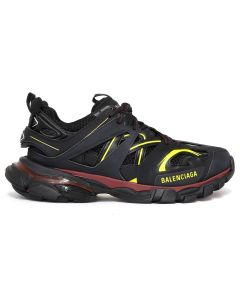 BALENCIAGA W1GB1/FABRIC SNEAKER RUBBER / 6162 : BORDEAUX-BLACK