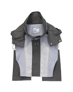 C2H4 COLOR BLOCKED TACTICAL 3M VEST / GRAY