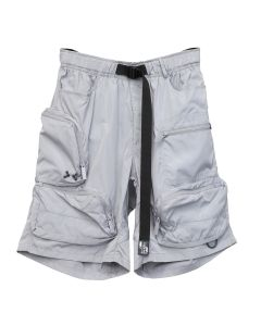 C2H4 UTILITY EXTERIOR POCKETS SHORT / SMOKE GRAY