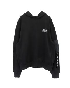 C2H4 x mastermind JAPAN CPU BLUEPRINT HOODIE / DARK GRAY