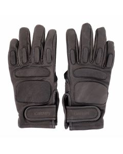 C.E LEATHER GLOVES / BLACK