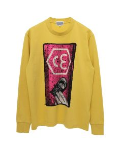C.E HEX CE LONG SLEEVE T / ORANGE