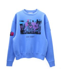 C.E CARD 17 CREW NECK / BLUE