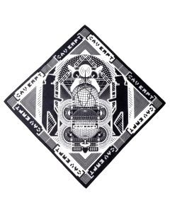 C.E MD SPHERE SCARF / BLACK