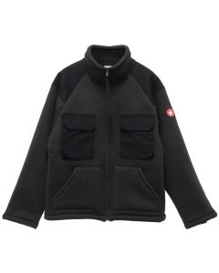 C.E BOA FLEECE ZIP UP / CHARCOAL