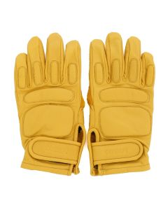 C.E LEATHER GLOVES / YELLOW