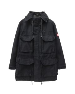 C.E HEAVY SMOCK / BLACK