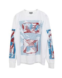 C.E YOUR BUSINESS LONG SLEEVE T / WHITE