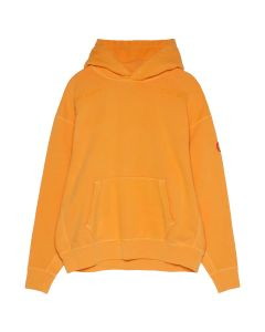 C.E OVERDYE WIRE MESH HEAVY HOODY / ORANGE