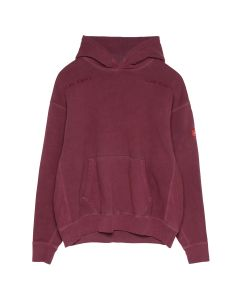 C.E OVERDYE SMOKY HEAVY HOODY / RED