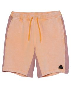 C.E OVERDYE SWEAT SHORTS / ORANGE