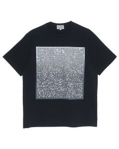 C.E PIXLATED NOISE T / BLACK
