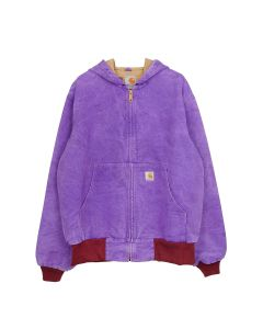 FRUITION DRIP DYE FRUITION PURPLE CARGARTT JACKET / DRIP DYE FRUITION PURPLE