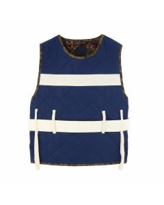 CRAIG GREEN VEST / NAVY MAIN