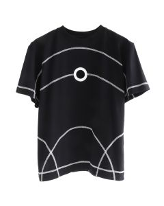 CRAIG GREEN CREW NECK T-SHIRT / BLACK