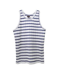 CLOT CABLE BORDER BASKETBALL TANK TOP / WHITE