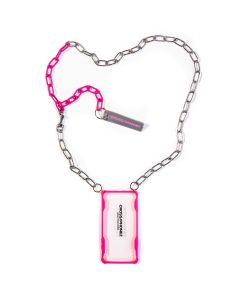 CROSS/PHONEZ CROSSPHONE CHAIN CASE / SILVER-PINK