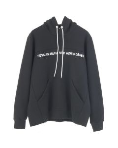 SEVER RUSSIAN MAFIA NEW WORLD ORDER HOODIE / BLACK