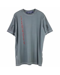 A-COLD-WALL* A-COLD-WALL* VERTICAL T-SHIRT / SLATE-RED-BLACK