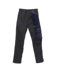 COTTWEILER CAVE TROUSERS / BLACK