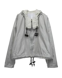 COTTWEILER PROTECTIVE JACKET / IVORY-SILVER