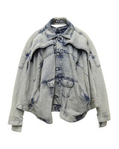 DIESEL RED TAG PROJECT BY SHAYNE OLIVER TURBO JEAN JACKET / 0077K INDIGO