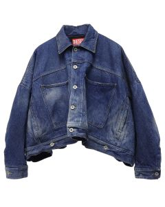 DIESEL RED TAG PROJECT BY SHAYNE OLIVER JEAN JACKET / 0077L INDIGO
