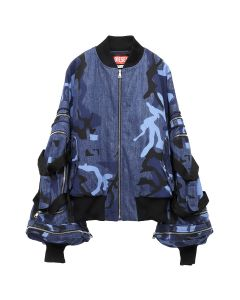 DIESEL RED TAG PROJECT BY SHAYNE OLIVER THE BOMBER / 080AX INDIGO