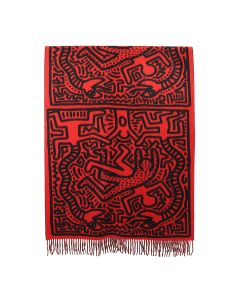 Études x Keith Haring MAGNOLIA ALL OVER KEITH HARING / ALL OVER RED