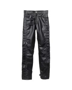 EV BRAVADO BLACK THRASHER LEATHER PANT / BLACK