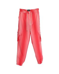 Feng Chen Wang CARGO GRADIENT TROUSERS / PINK