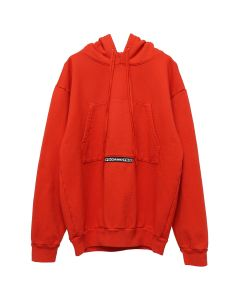 FOO AND FOO TRINITY HOODIE / RED