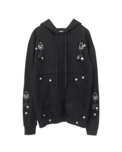 FOO AND FOO LIGHTER LEASH HOODIE / BLACK