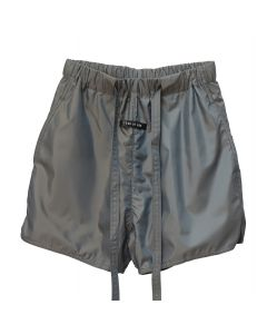 FEAR OF GOD SIXTH COLLECTION MILITARY PHYSICAL TRAINING SHORT / 063 : GREY IRIDESCENT
