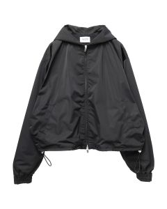 FEAR OF GOD SIXTH COLLECTION NYLON FULL ZIP HOODIE / 001 : BLACK