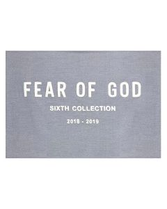 d5e4eb7c4e1b FEAR OF GOD SIXTH COLLECTION CHENILLE EMBROIDERED THROW   034   HEATHER GREY