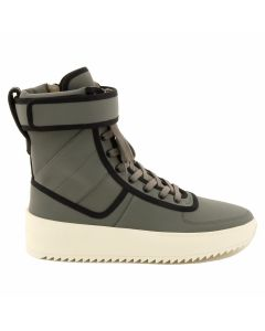 FEAR OF GOD FIFTH COLLECTION MILITARY SNEAKER / GREY-BLACK-BONE